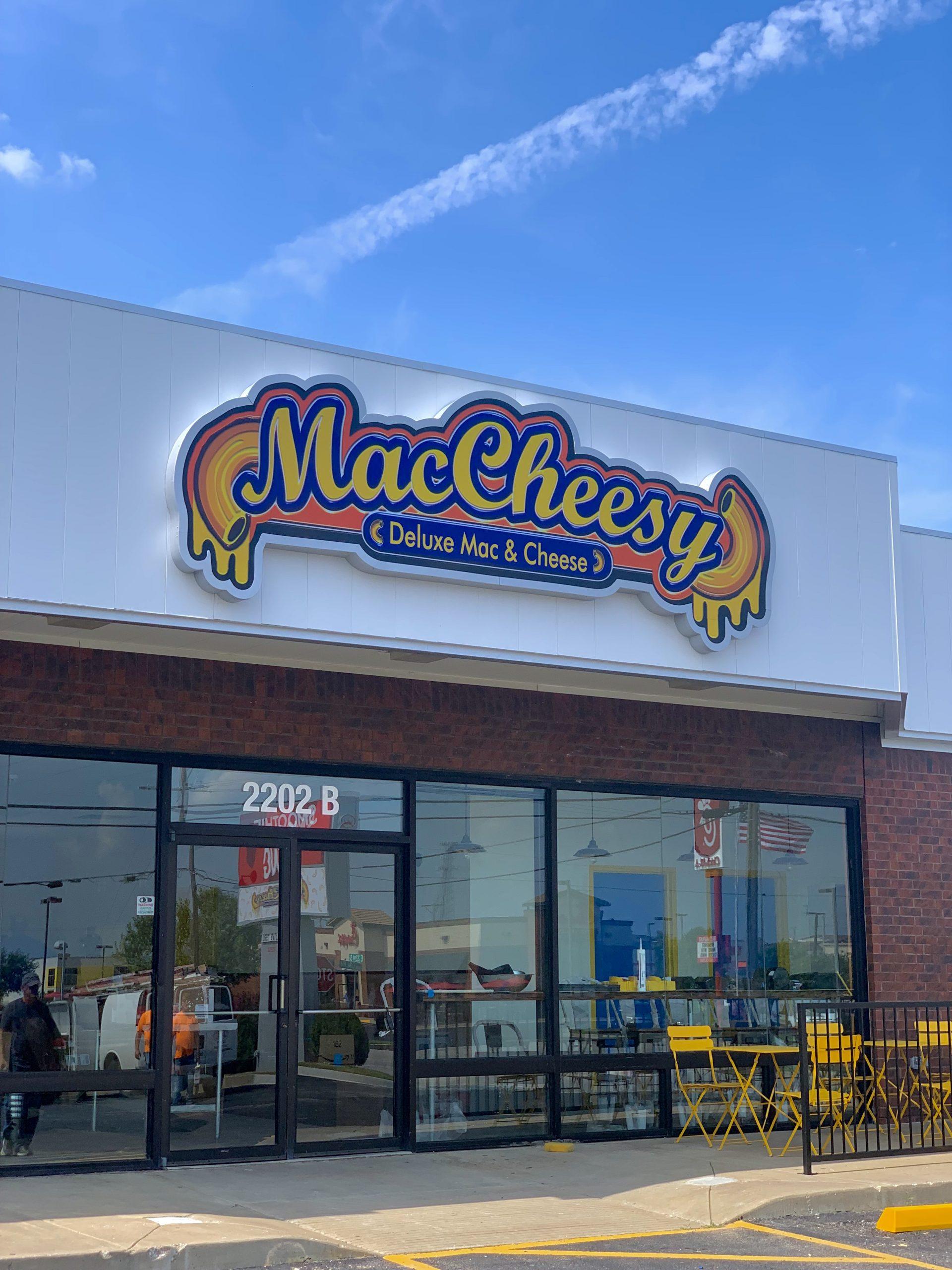 MacCheesy's Storefront